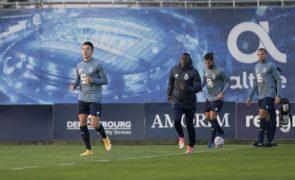 LC: Colombiano Matheus Uribe falha deslocação do FC Porto a Marselha