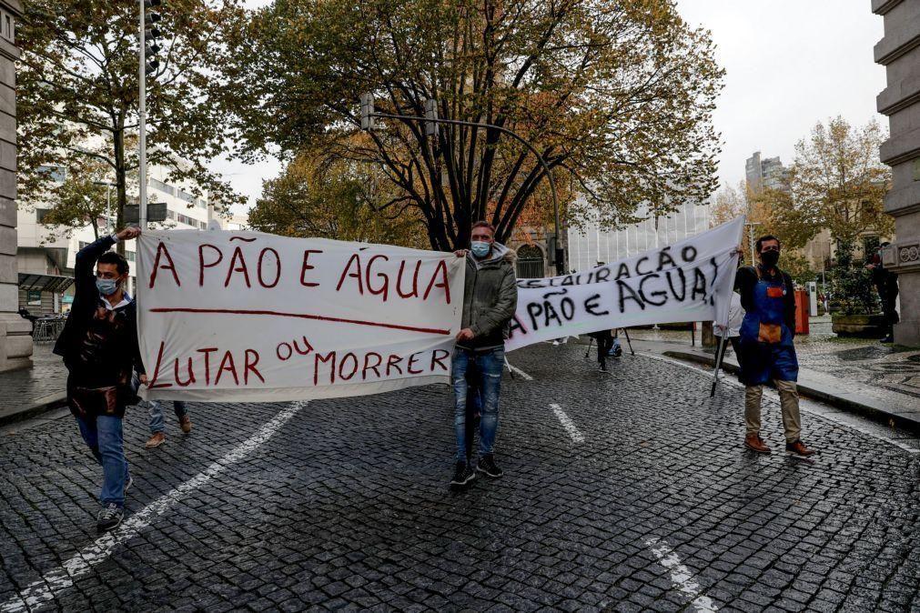 Covid-19: Empresários da restauração, comércio e hotelaria protestam hoje em Lisboa