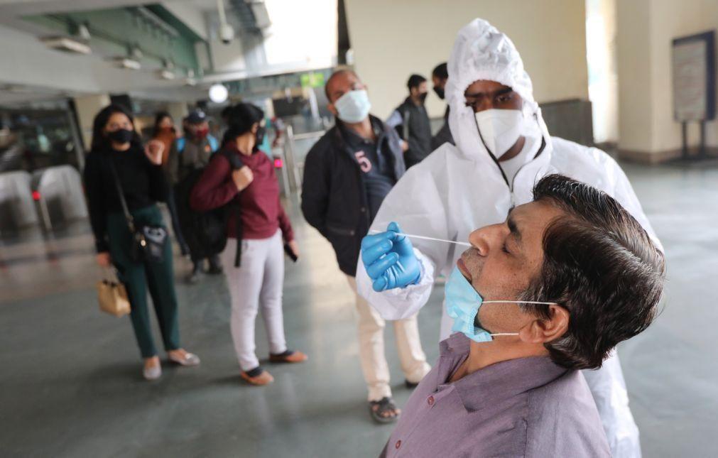 Covid-19: Índia com 481 mortos e 44.376 casos nas últimas 24 horas