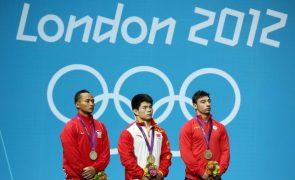 Dois halterofilistas romenos perdem medalhas de Londres2012 por doping