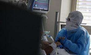Covid-19: Portugal com 517  pessoas internadas nos cuidados intensivos