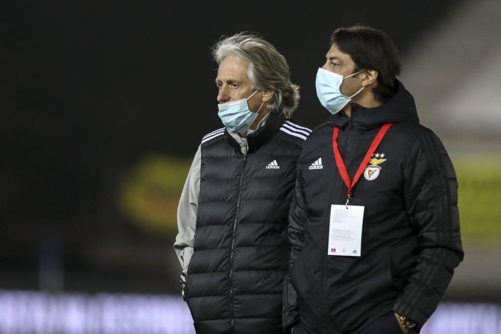 LE: Jorge Jesus promete Benfica