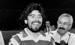 Sporting lembra dia em que Maradona vestiu camisola dos 'leões'