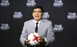 Óbito/Maradona: Fernando Gomes triste com morte de