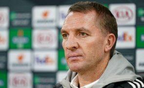 Brendan Rodgers diz que Leicester não vai subestimar Sporting de Braga