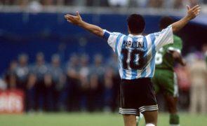 Os 10 golos mais memoráveis de Maradona