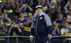 O que Diego Maradona queria escrito na sua lápide
