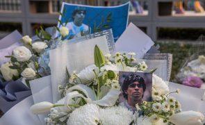 Funeral de Maradona marcado para hoje à tarde nos arredores de Buenos Aires