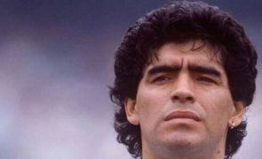 Divulgado vídeo de Maradona horas antes da morte