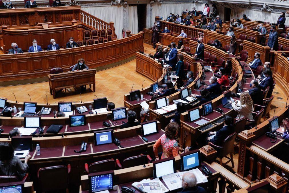 Parlamento debate e vota provável prolongamento da emergência em 4 de dezembro
