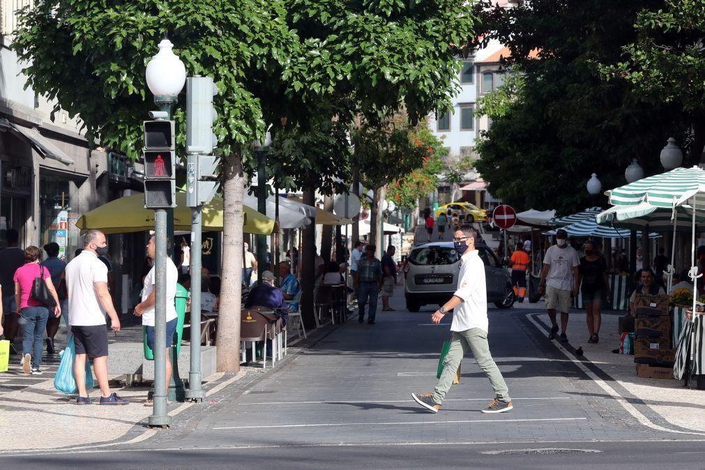 Covid-19: Madeira regista 12 novos casos e 182 situações suspeitas