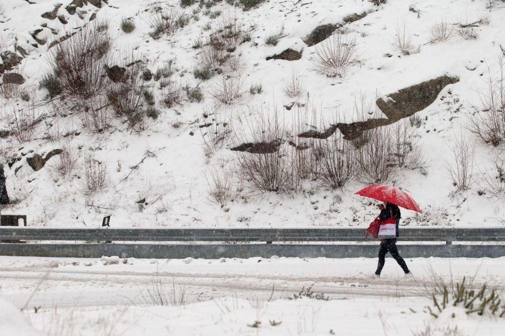 Estradas na Serra na Estrela reabertas