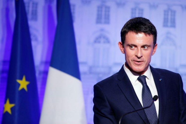 PM francês Manuel Valls anuncia hoje candidatura às presidenciais de 2017