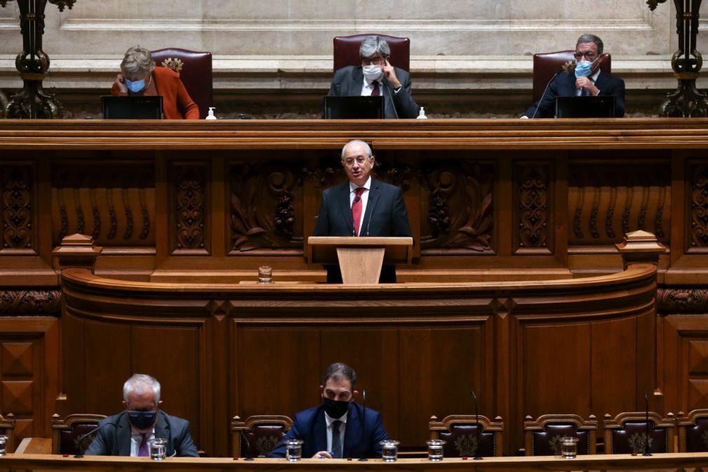 PCP/Congresso: Rio critica prepotência do PCP e acusa Governo de cobardia