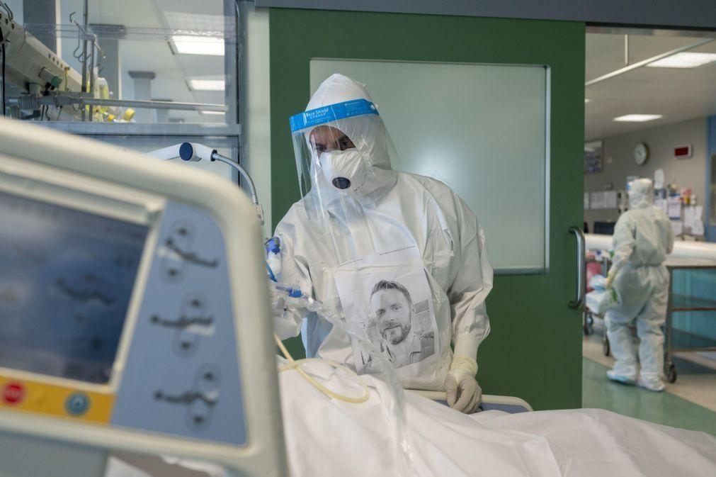 Covid-19: Itália registou 28.352 novos casos e 827 mortes nas últimas 24 horas