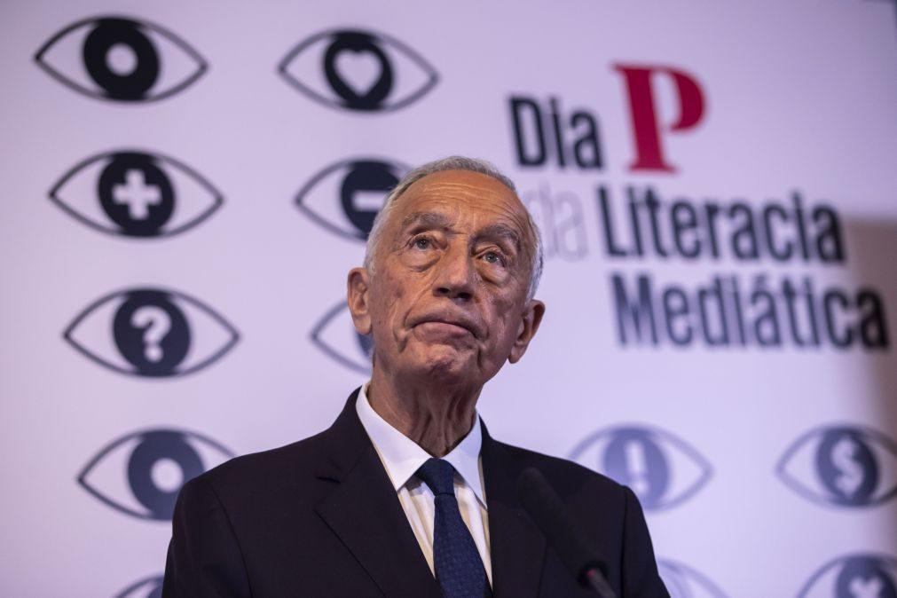 Presidenciais: Marcelo defende que não deve