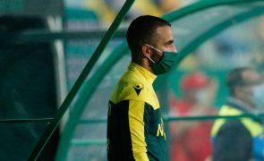 Rúben Amorim admite indefinição devido a nova equipa técnica no Moreirense