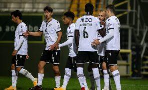 Vitória de Guimarães vence em Tondela e sobe a quinto da I Liga