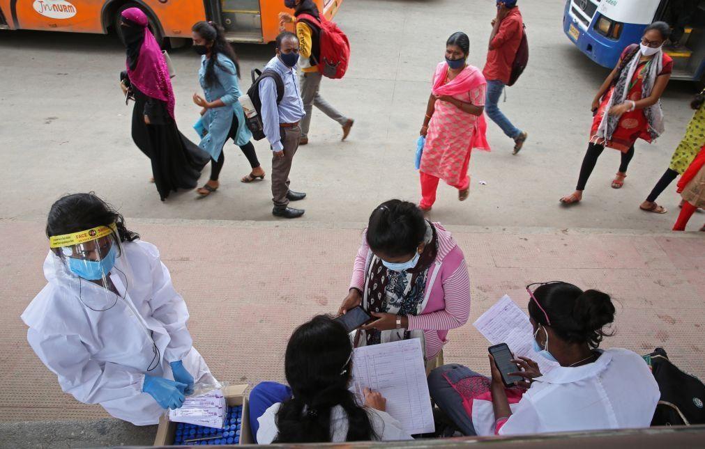 Covid-19: Índia com 485  mortos e 41.322 casos nas últimas 24 horas