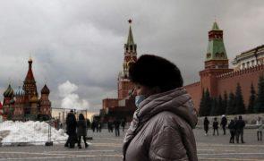 Covid-19: Rússia conta 510 mortos e 27.100 novas infeções nas últimas 24 horas