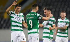 Sporting vence em Alvalade o Moreirense e mantém liderança da I Liga [veja os golos]