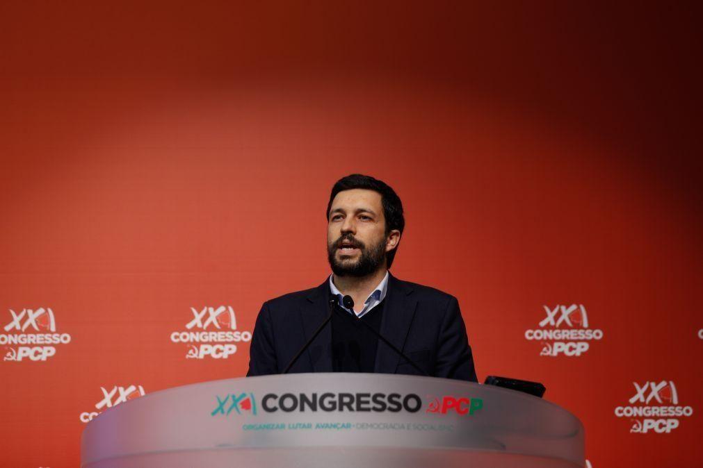 PCP. Candidato presidencial João Ferreira sobe à Comissão Política