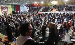 PCP/Congresso: Resolução política aprovada por unanimidade, nova direção aplaudida por 10 minutos