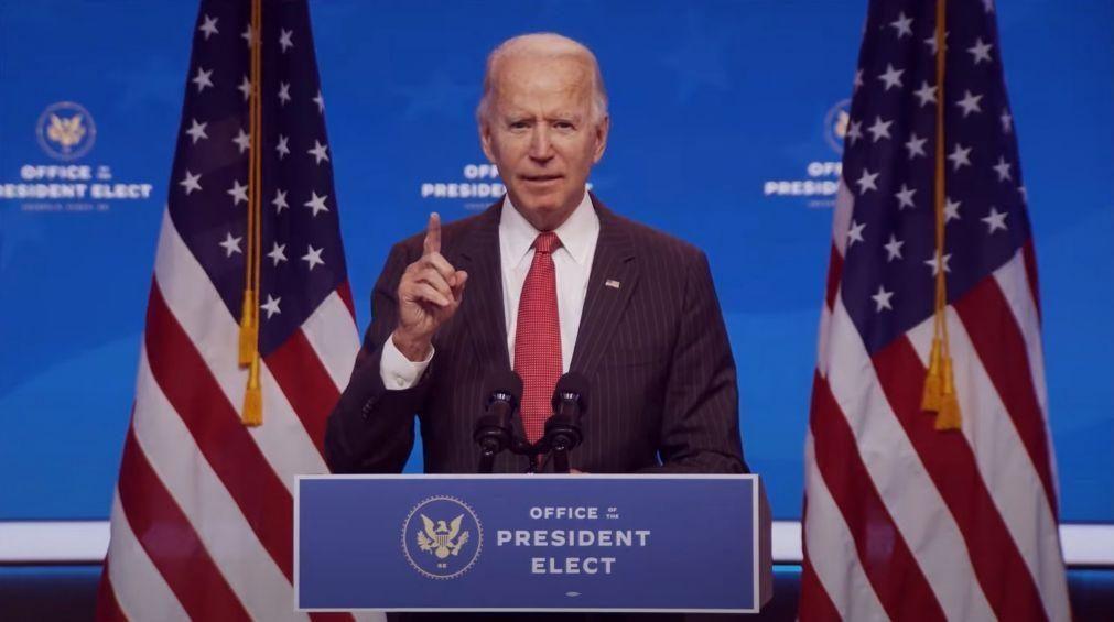 Joe Biden recebe hoje primeiro 'briefing' presidencial
