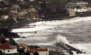 Mau tempo: Arquipélago da Madeira sob aviso laranja devido ao vento e agitação marítima