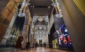 Covid-19: Itália mantém restrições no Natal e aprova novo plano económico
