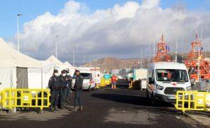Autoridades espanholas esvaziam
