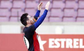 FC Barcelona tenta despenalizar 'amarelo' a Messi pela homenagem a Maradona