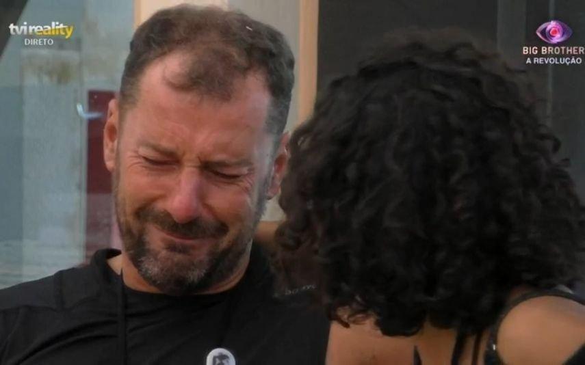 Big Brother. Pedro desfaz-se em lágrimas no ombro de Jéssica