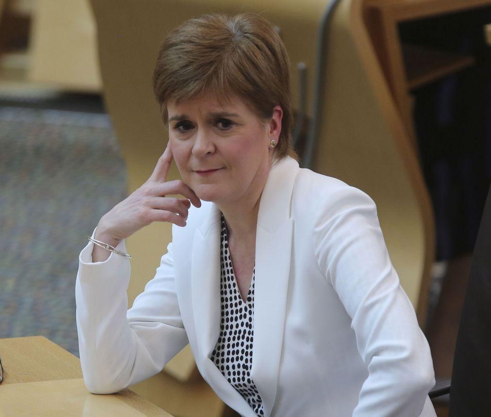 Primeira-ministra da Escócia quer referendo sobre independência em 2021
