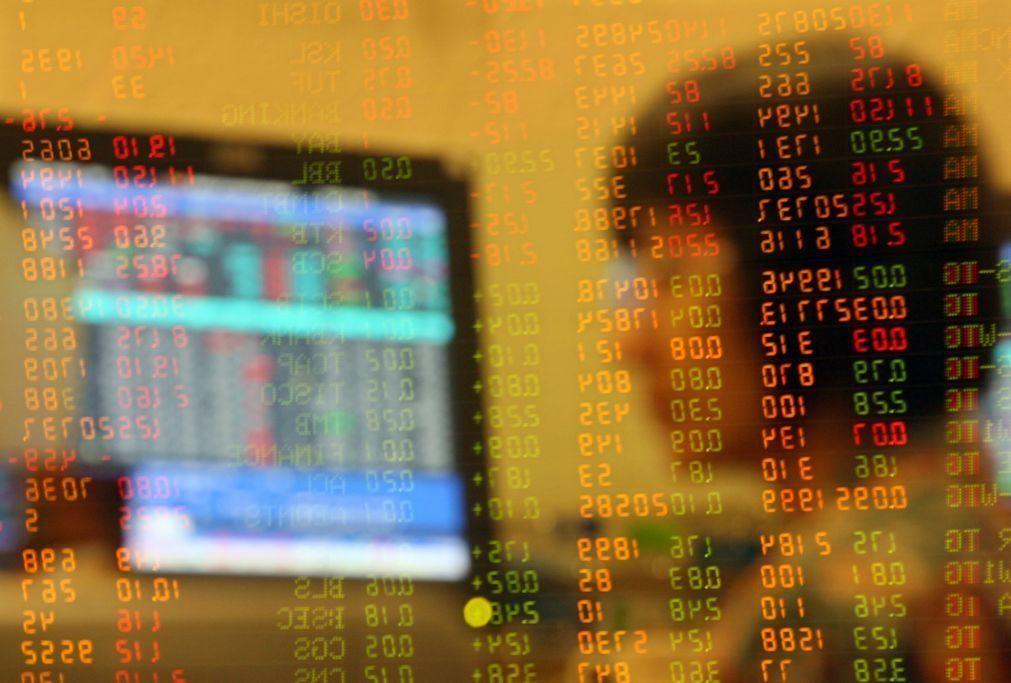 Bolsa de Xangai abriu a cair 0,08%