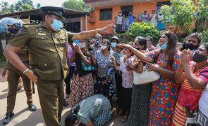 Covid-19: Amnistia de presos no Sri Lanka após motim sangrento
