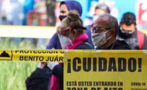 Covid-19: México regista 825 mortos num só dia