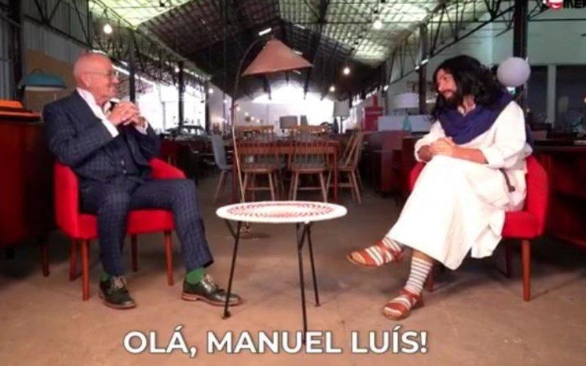 Manuel Luís Goucha Apresentador é a estrela da música de Natal da Rádio Comercial | Veja o vídeo