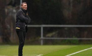 Treinador do AEK Atenas admite poupanças diante do Braga a pensar no campeonato