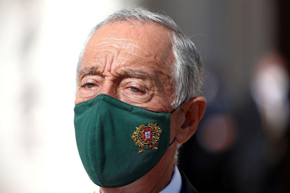 Marcelo Rebelo de Sousa recorda Giscard d'Estaing como