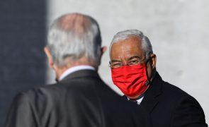 Costa diz que medidas para travar pandemia estão a ter resultados, mas afasta alívio de restrições