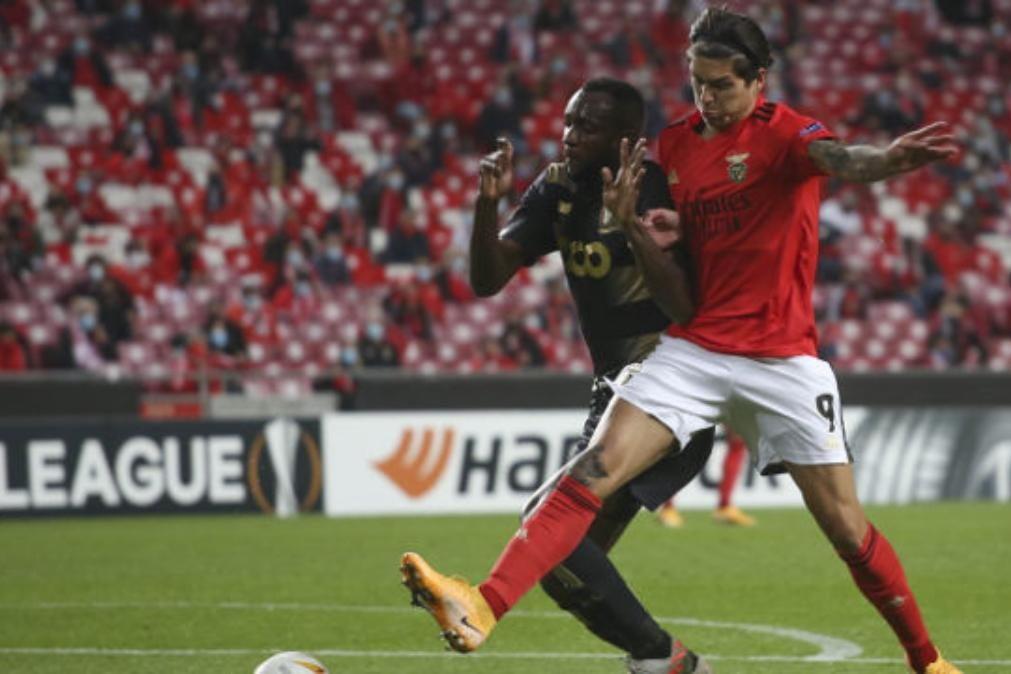 Benfica vence na Luz e garante 16 avos da Liga Europa [veja os golos]