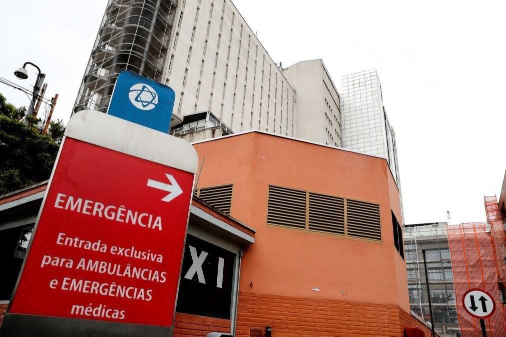 Covid-19: Brasil regista novo avanço da pandemia com vários hospitais saturados