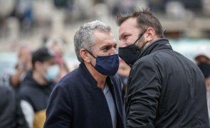 Manifestantes provocaram assessores de Marcelo: