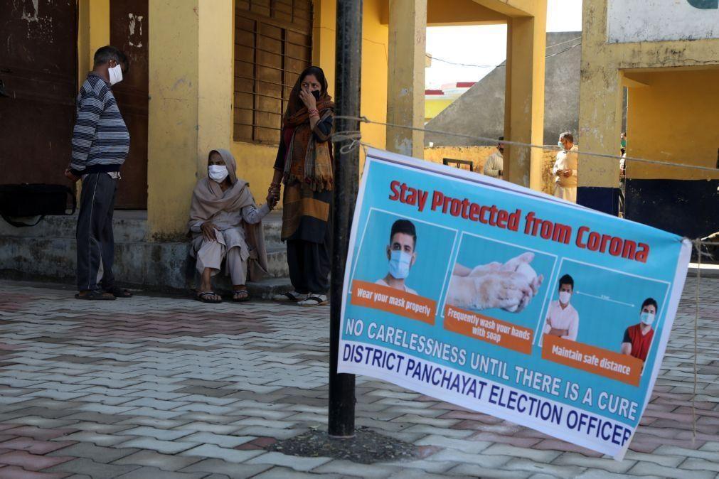 Covid-19: Índia com mais de 500 mortos nas últimas 24 horas