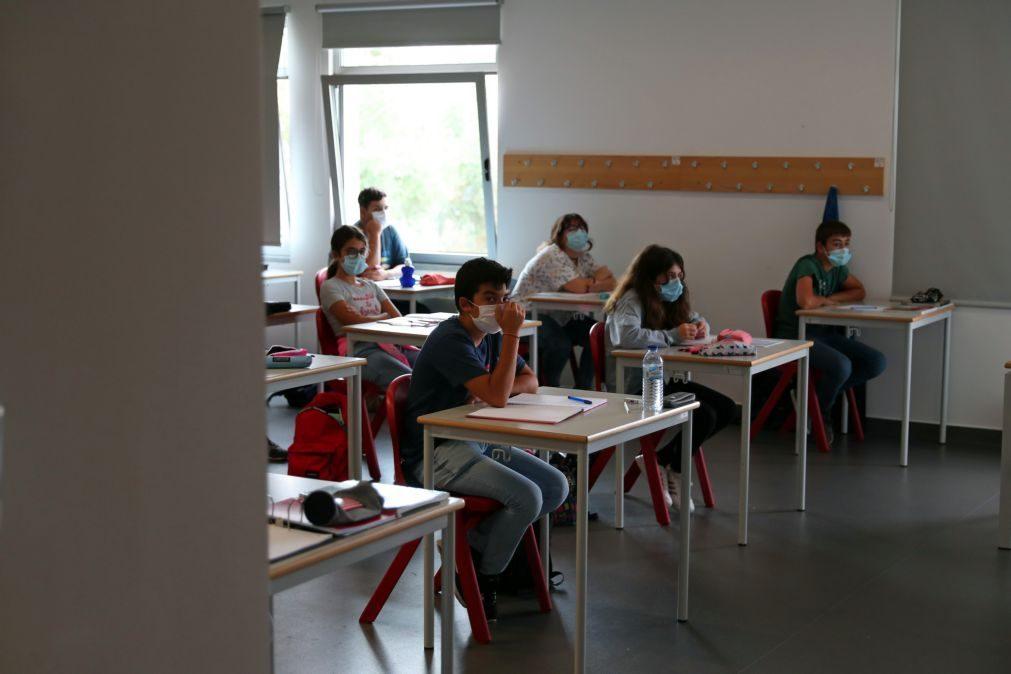 Docentes alertam que pandemia está a prejudicar alunos e pedem mais meios