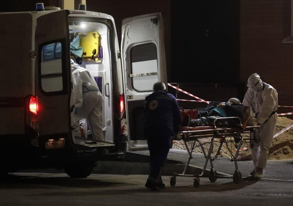 Covid-19:  Rússia regista 27.403 novos casos nas últimas 24 horas