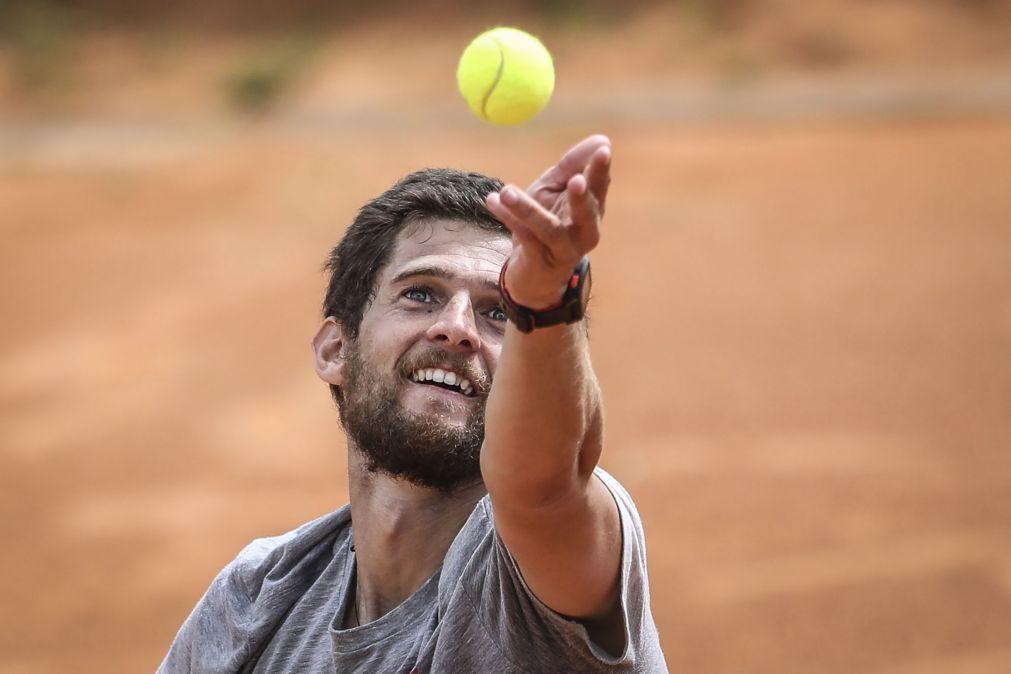 Pedro Sousa garante vaga nas meias-finais do Maia Open em ténis