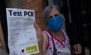 Covid-19: Espanha reduz incidência acumulada para 231 casos por 100.000 habitantes