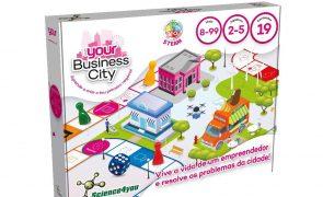 Your lança jogo para crianças e jovens empreendedores do futuro